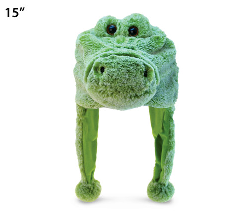 Super Soft Plush Hat Alligator