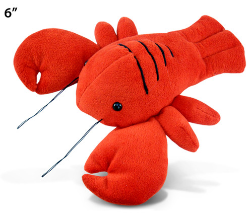 6 Inches Plush Lobster