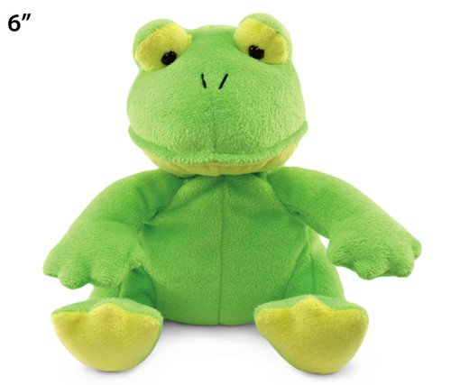 6 Inches Plush Frog