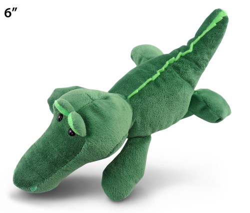 6 Inches Plush Alligator
