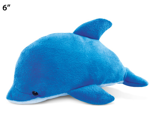 6 Inches Plush Dolphin