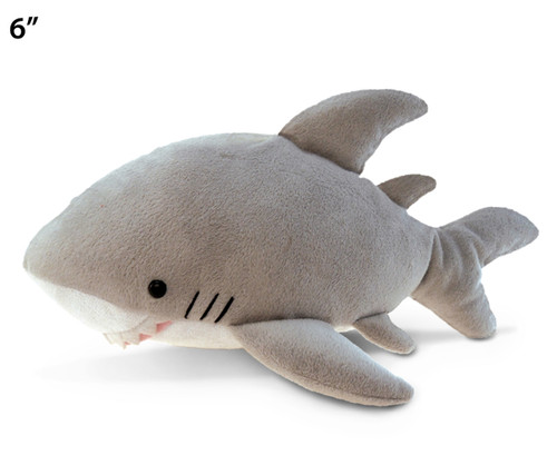 6 Inches Plush Shark