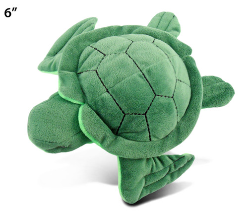 6 Inches Plush Sea Turtle