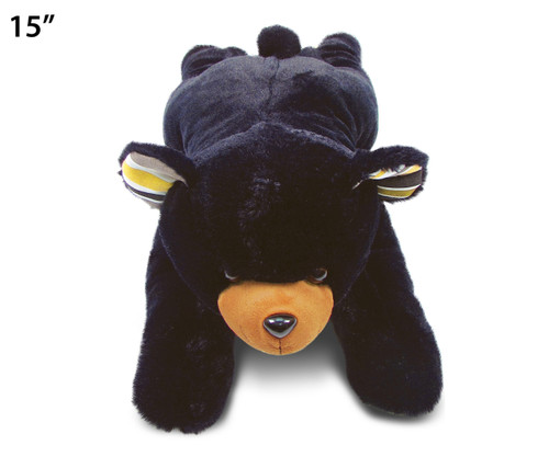 Stylish Plush Pillow - Xl Black Bear