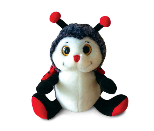 Super-Sof Plush - Sitting Lady Bug