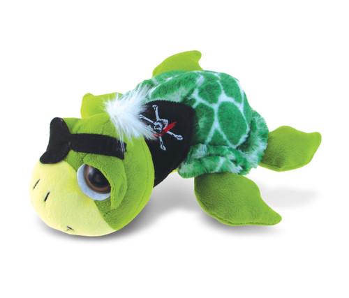 Super-Sof Plush - Green Pirate Turtle