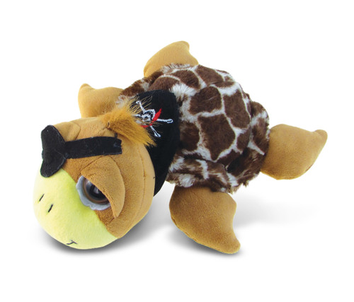 Super-Sof Plush - Brown Pirate Turtle