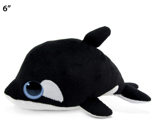 Big Eye 6 Inches Plush Killer Whale