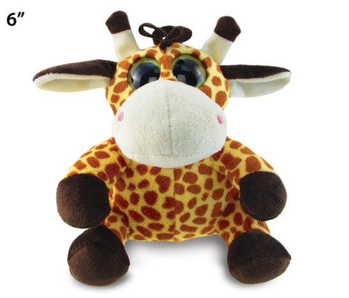 Big Eye 6 Inches Plush Giraffe