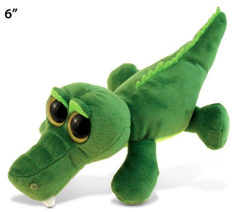 Big Eye 6 Inches Plush Alligator