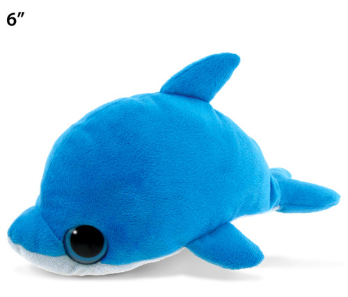Big Eye 6 Inches Plush Dolphin