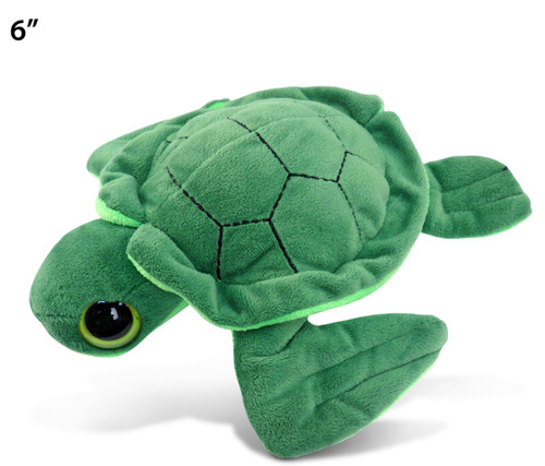 Big Eye 6 Inches Plush Sea Turtle