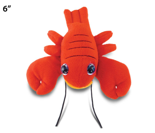 "Big Eye 6"" Plush - Red Lobster"