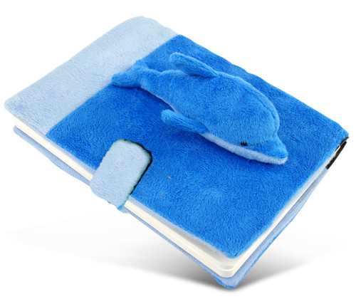 Plush Notebook Dolphin