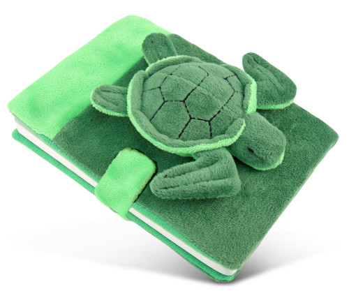 Plush Notebook Sea Turtle
