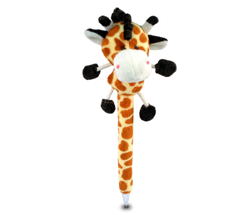 Plush Pen Giraffe