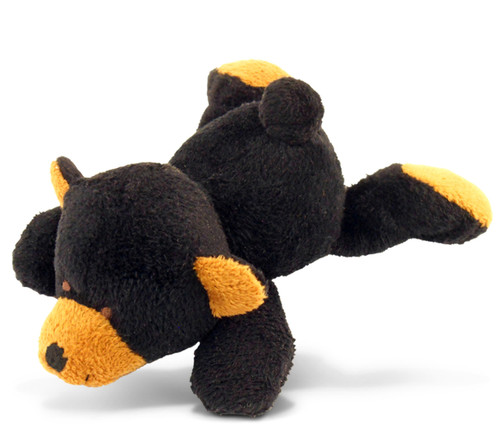 Plush Magnet - Black Bear