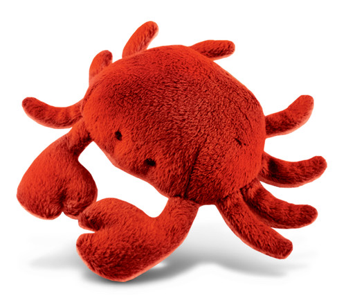 Plush Magnet - Red Crab