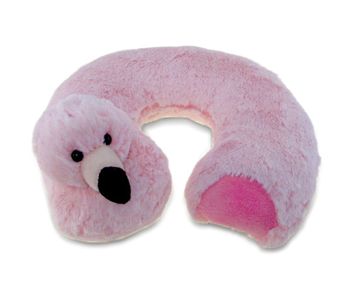 Super Soft Plush Neck Pillow Flamingo