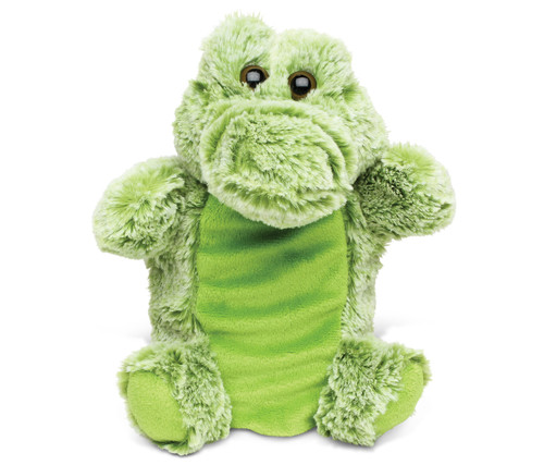Super Soft Plush Hand Puppet Alligator