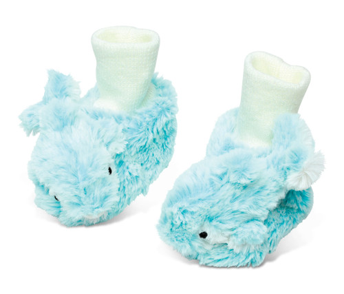 Super Soft Plush Baby Shoes Dolphin