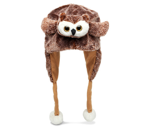 Super Soft Plush Hat Owl