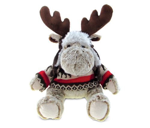 Super Soft Plush With Clothes Moose