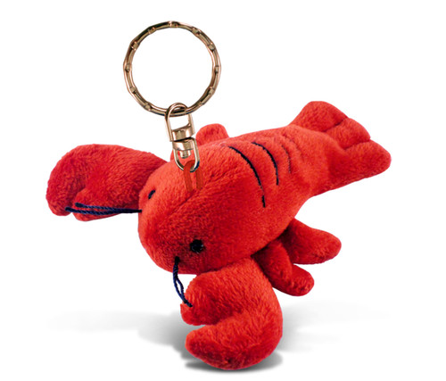 Plush Keychain Lobster
