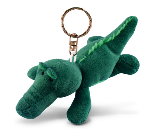 Plush Keychain Alligator