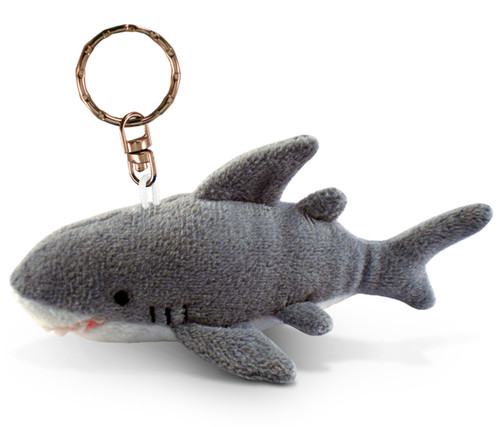 Plush Keychain Shark
