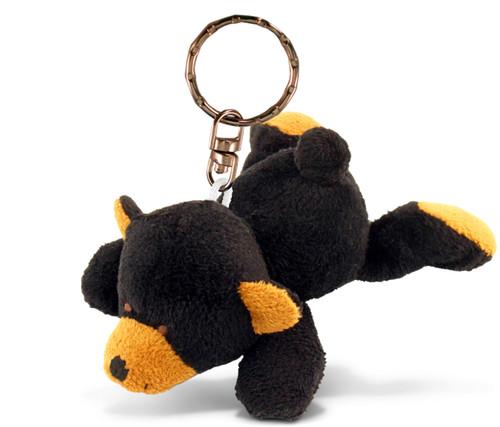 Plush Keychain Black Bear
