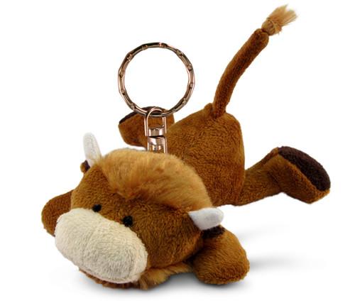 Plush Keychain Buffalo