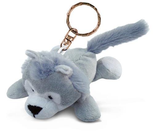 Plush Keychain Wolf