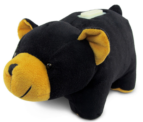 Plush Bank Black Bear