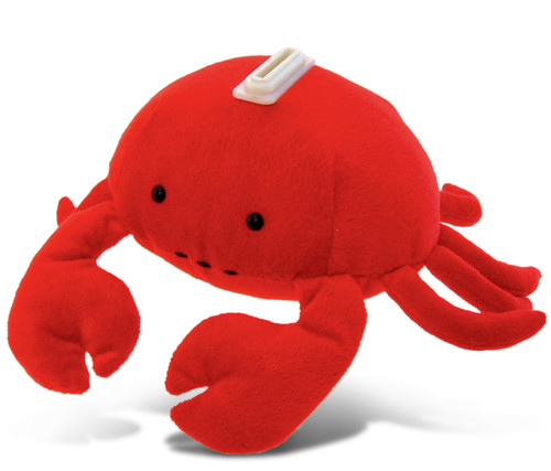 Plush Bank Red Crab