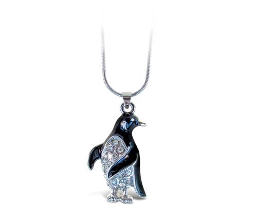 Sparkling Necklace Penguin