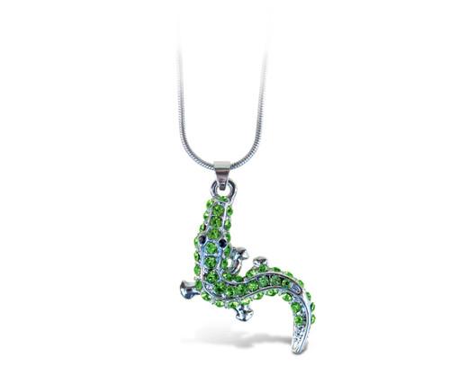 Sparkling Necklace Alligator