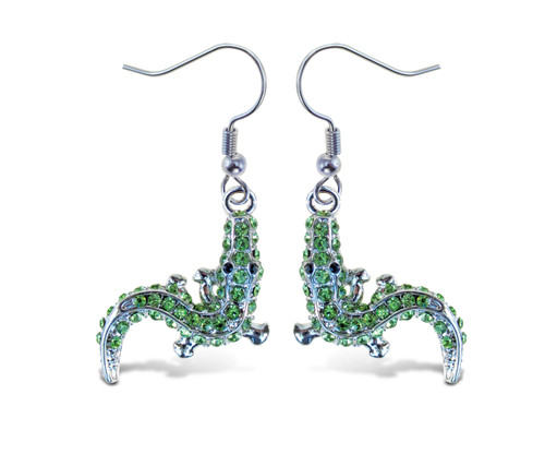 Sparkling Earrings Alligator