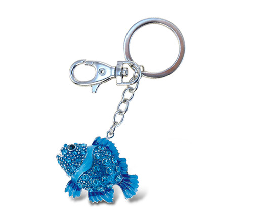 Sparkling Charms - Blue Fish