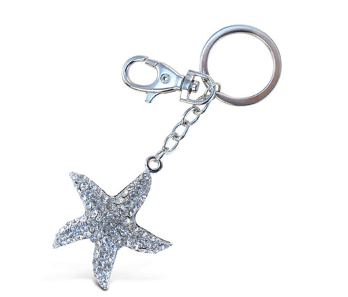 Sparkling Charms - Clear Starfish