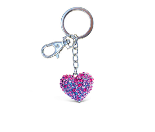 Sparkling Charms - Pink Heart