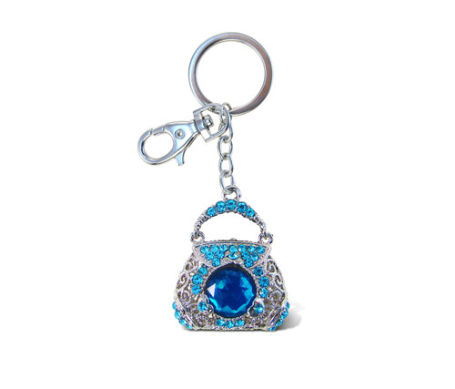 Sparkling Charms Blue Purse