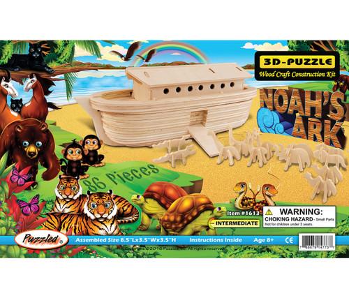 3D Wooden Puzzles Noah's Ark