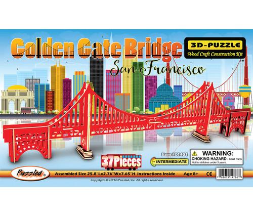Illuminated 3D Puzzles Golden Gate Bridge