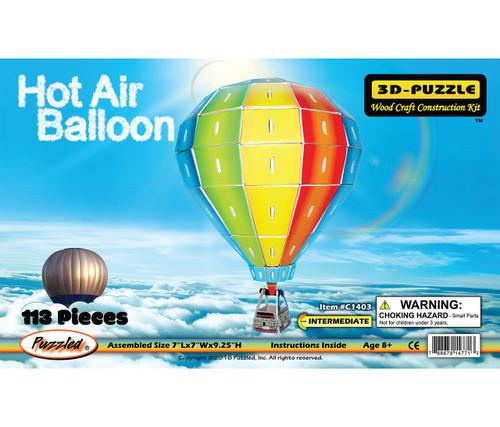 Illuminated 3D Puzzles Hot Air Ballon