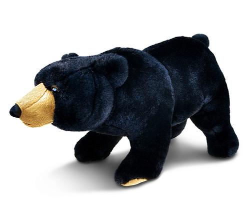 Super Soft Plush Wild Large Black Bear
