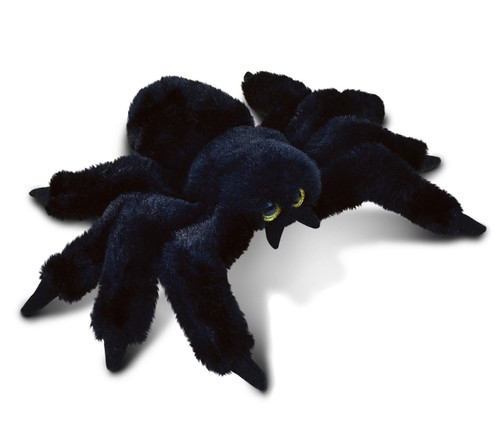 Super Soft Plush Black Spider