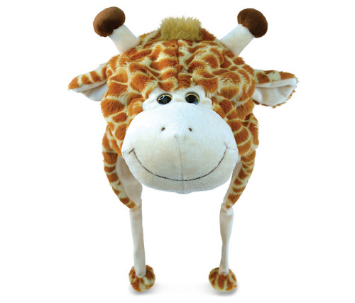 Super Soft Plush Hat Giraffe
