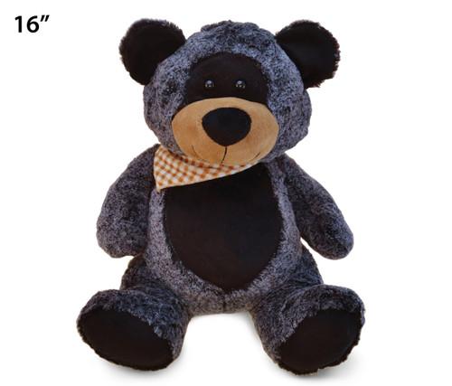 Super-Soft Plush - Sitting Black Bear Xl