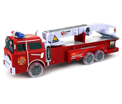 Vehicle Rescue Fire Truck with Lights and Sounds